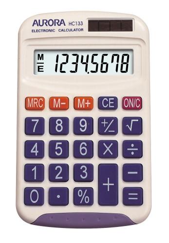 AURORA Handy Calculator HC133