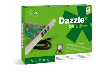 DAZZLE DV Editor Card - PCI [PC]