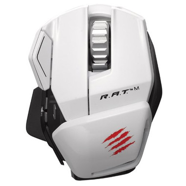 Mad Catz R.A.T.M Bluetooth Gaming Mouse - White
