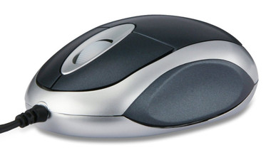Link SL-6141SBE Snappy 2 BLACK USB PC Mouse, PC / Mac, 2-ways