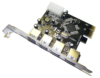 Dynamode 4-Port PCI-Express Card - Superspeed USB3.0