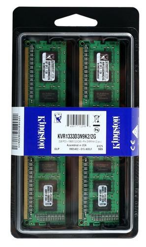 Kingston KVR1333D3N9K2/2G 2GB 1333Mhz DDR3 Memory