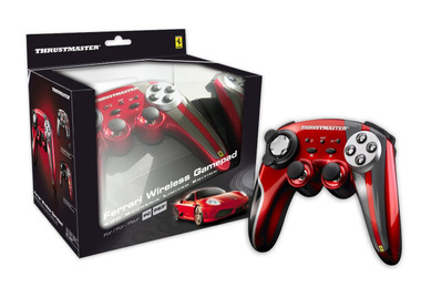 Thrustmaster Ferrari 430 Scuderia Limited Edition Wireless Gamepad (PC/PS3)