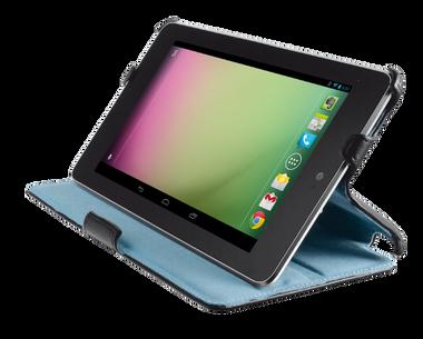 Trust Hardcover Skin & Folio Stand for Nexus 7