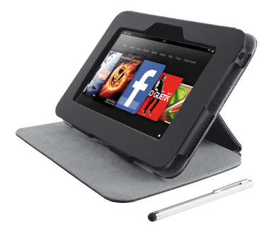 """Trust Folio Stand & Stylus for Kindle Fire HD 7"""""""