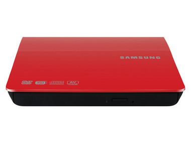Samsung Portable DVD Writer (SE-208) Red