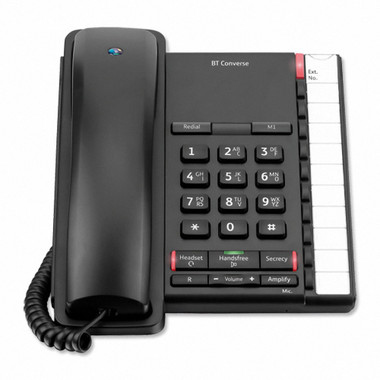 BT Converse 220 Corded Telephone + Handsfree