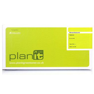 PLANIT GREEN Remanufactured Genuine Black Toner for Canon LBP7100cn (2400 Page)