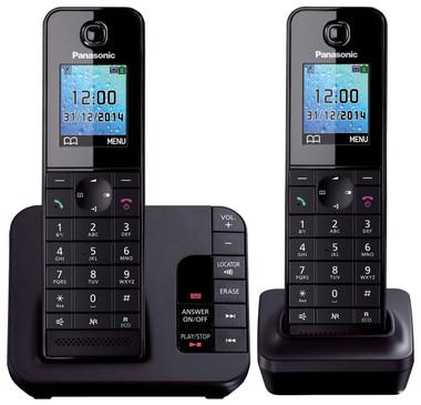 Panasonic KX-TGH222 Digital Cordless Answering System - 2 Handsets