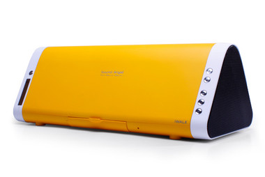 iWalk Sound Angle Rechargeable Bluetooth Speaker - Yellow