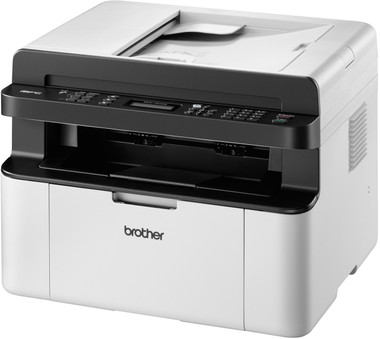 Brother MFC-1910W All-in-One Mono Laser Printer + Fax, Wireless