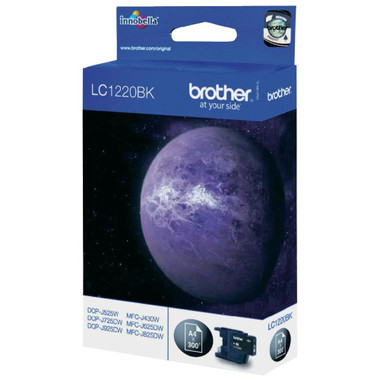 Brother LC1220 Genuine Ink Cartridge - Black