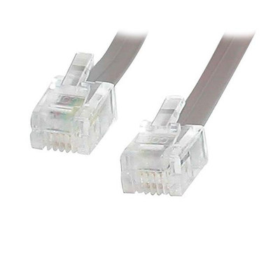 25 ft RJ11 Telephone Modem Cable