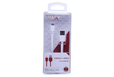 iWalk Apple Liscened Lightening to USB Cable - Charge / Sync (White)