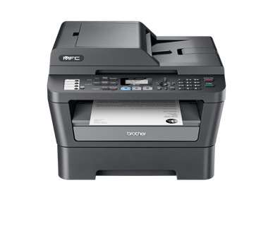 -Brother MFC7460DN Mono Laser Multifunction Printer with Auto Duplex