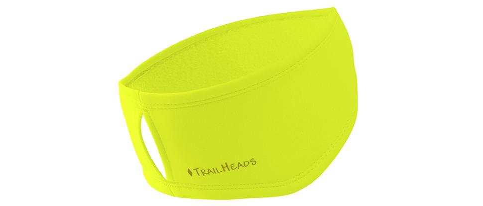TrailHeads Women's Power Ponytail Headband - hi-vis