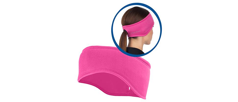 Women's Power Ponytail Headband - berry