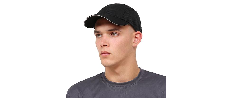 Race Day Running Cap - black