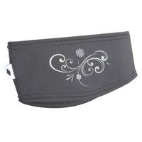 TrailHeads Power Swirl Headband - cold smoke grey