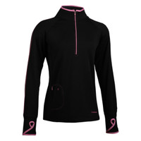 TrailHeads Women's Running Top - black / fast pink