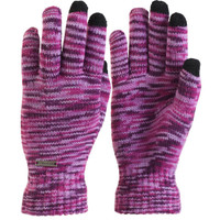 TrailHeads Women's Space Dye Touch Screen Knit Gloves - light purple