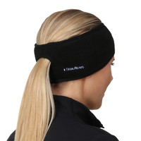 TrailHeads Women's Ponytail Headband - black / black