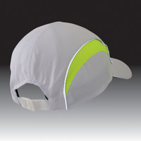 TrailHeads Daybreak Reflective Run Cap - white / hi-vis