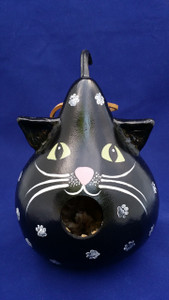Black Cat Birdhouse