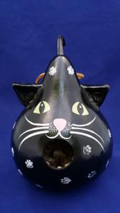 Black Cat Birdhouse