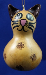 Brown Cat Ornament