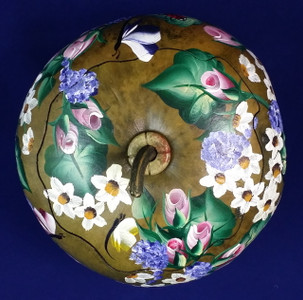 This gorgeous gourd box will look beautiful in any room. Each box is unique.