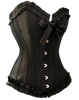 Best Selling Black Corset top will get the look your after to complete that outfit. Great use for Costumes, Affordable for the Formal Evening Wear and Fantastic Quality. Available from Size 8 to Size 28. Comes with a standard G-String.