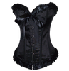 Available in Plus Size 8XL.  This corset is a great base to create your own costume. It works great for Formal wear as well.