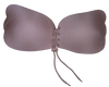 Stick On Reusable Bra with Front Toggle Pull Tie