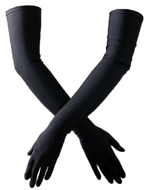 Extra Long Satin Stretch Gloves by Elegant Moments Lingerie