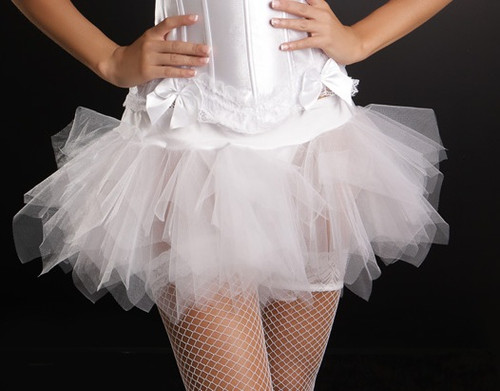 Cute White Tutu for Adults