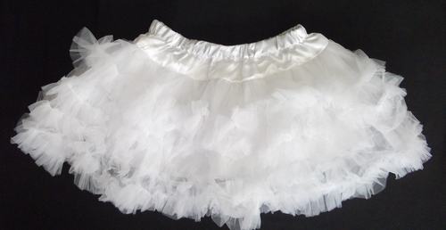 A Beautiful White Petticoat