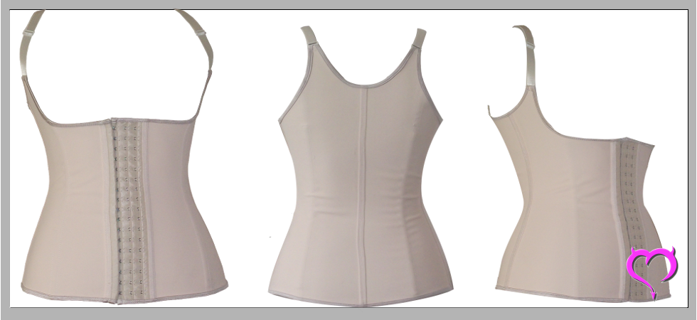 Beige Color Latex Waist Trainers