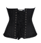 Fully Steel Boned Corset with Back Overlap