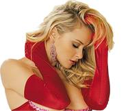 Long Satin Red Gloves are great for Christmas, Valentines and Costumes