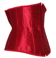 Stunning Red Satin Waist Shaper Belt - so many useful ways to wear this.