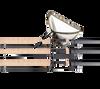 "Sonik 3 x S6 Carp Rod 12ft 3.5lb Cork + XTI 42"" Landing Net"