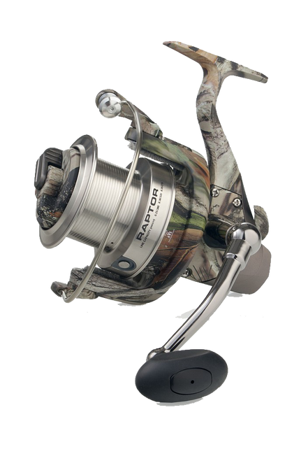 Mirvardi Raptor Stealth Reel Twin Action Front Drag
