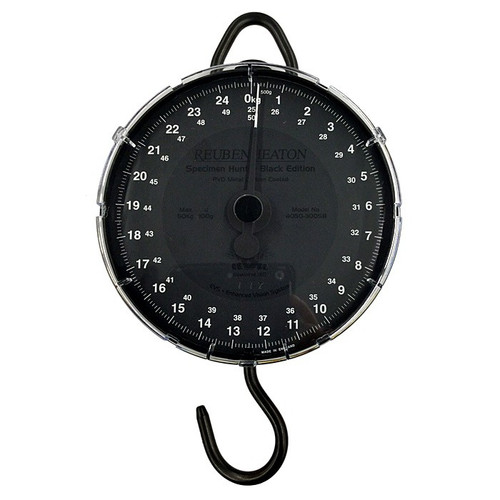 Reuben Heaton Specimen Hunter Black Limited Edition Scales