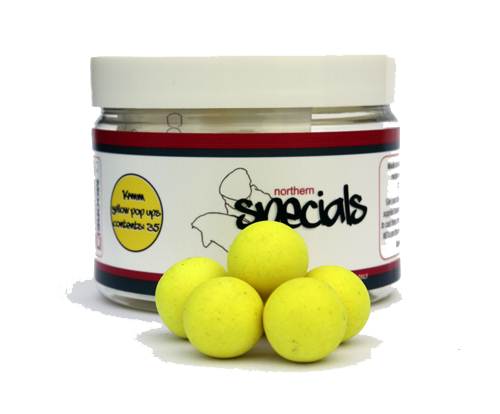 CC Moore Northern Specials Pop Ups 12mm - NS1 Yellow