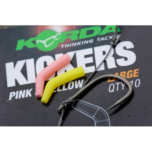 Korda Kickers Yellow & Pink Large