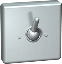 ASI (10-122) Square Clothes Hook - Rear Mount