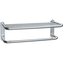 "ASI (10-7311-20B) Surface Mounted Towel Shelf with Towel Bar 20""-Bright"