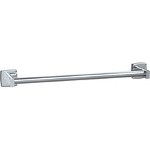 "ASI (10-7355-18S) Surface Mounted Round Towel Bar 18""-Satin"
