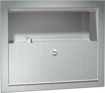 ASI (10-0004) Recessed Wall Urn